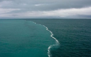 two oceans meet