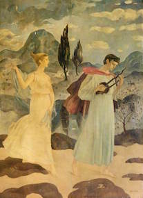 Crawford, Hugh Adam, 1898-1982; Orpheus: The Wooing of Eurydice