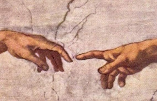 Michelangelo_finger of God