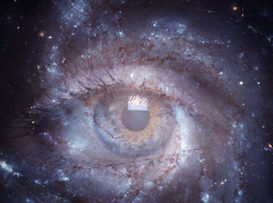"""Black hole"" Eye of Consciousness"